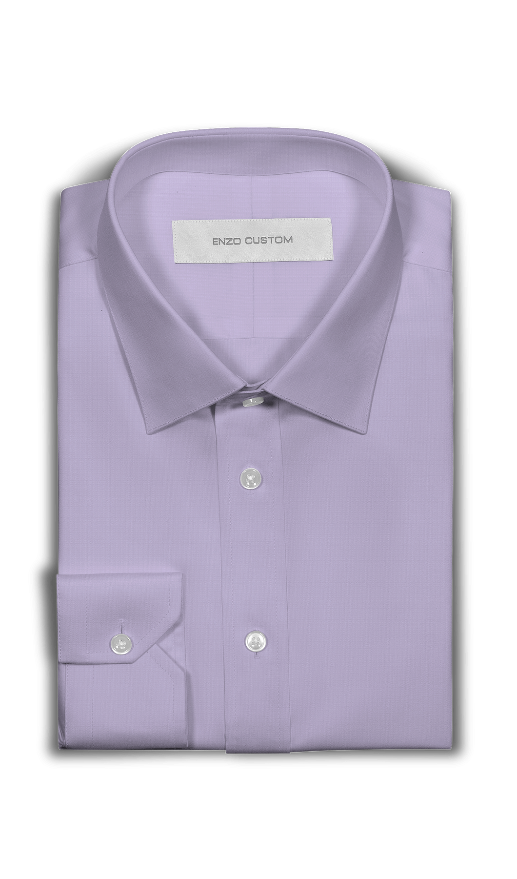 Lavender Dress Shirt - Enzo Custom