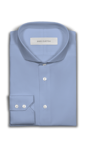 Light Blue Dress Shirt - Enzo Custom