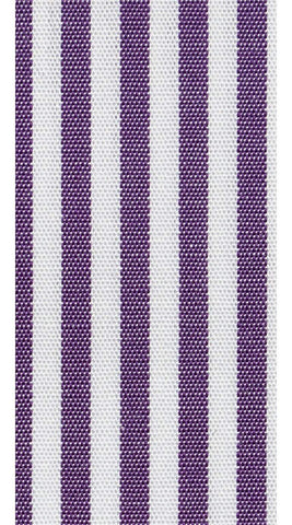 Purple Striped Dress Shirt - Enzo Custom