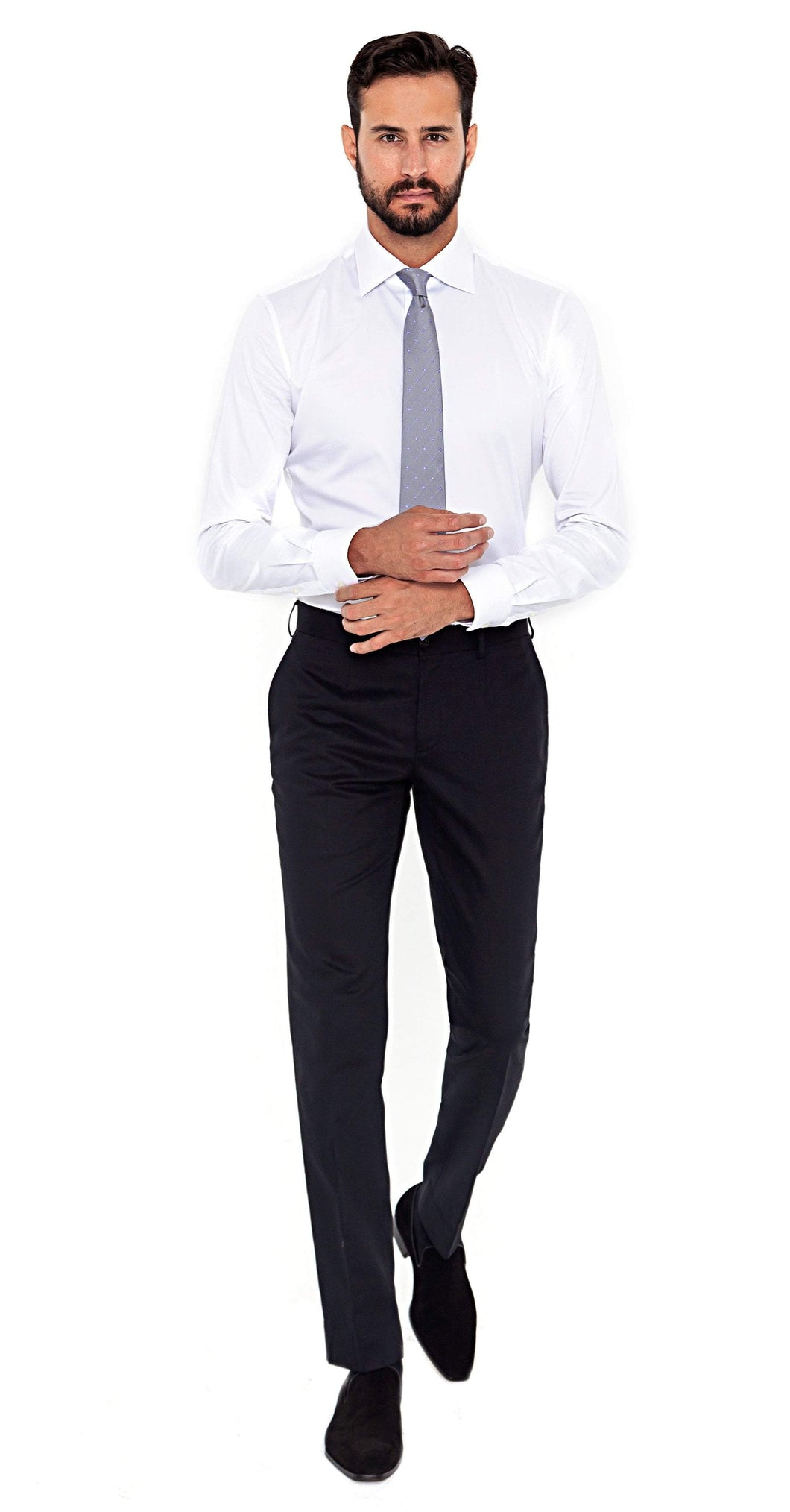 Signature Trousers Super 120s Navy Trouser