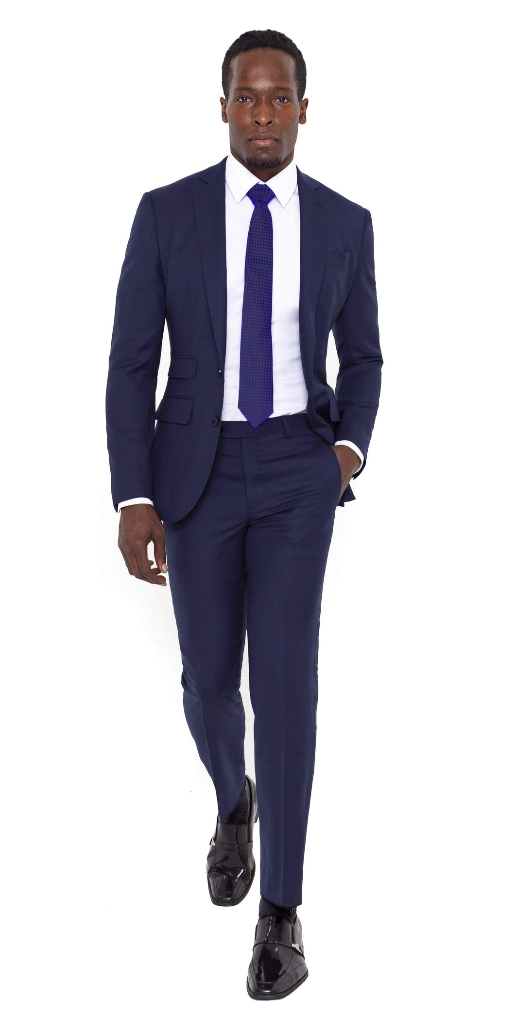 Signature Suit Super 120s Royal Blue Tuxedo