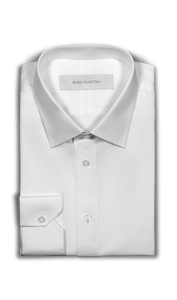 Tessuti Per Camiceria White Dress Shirt - Enzo Custom