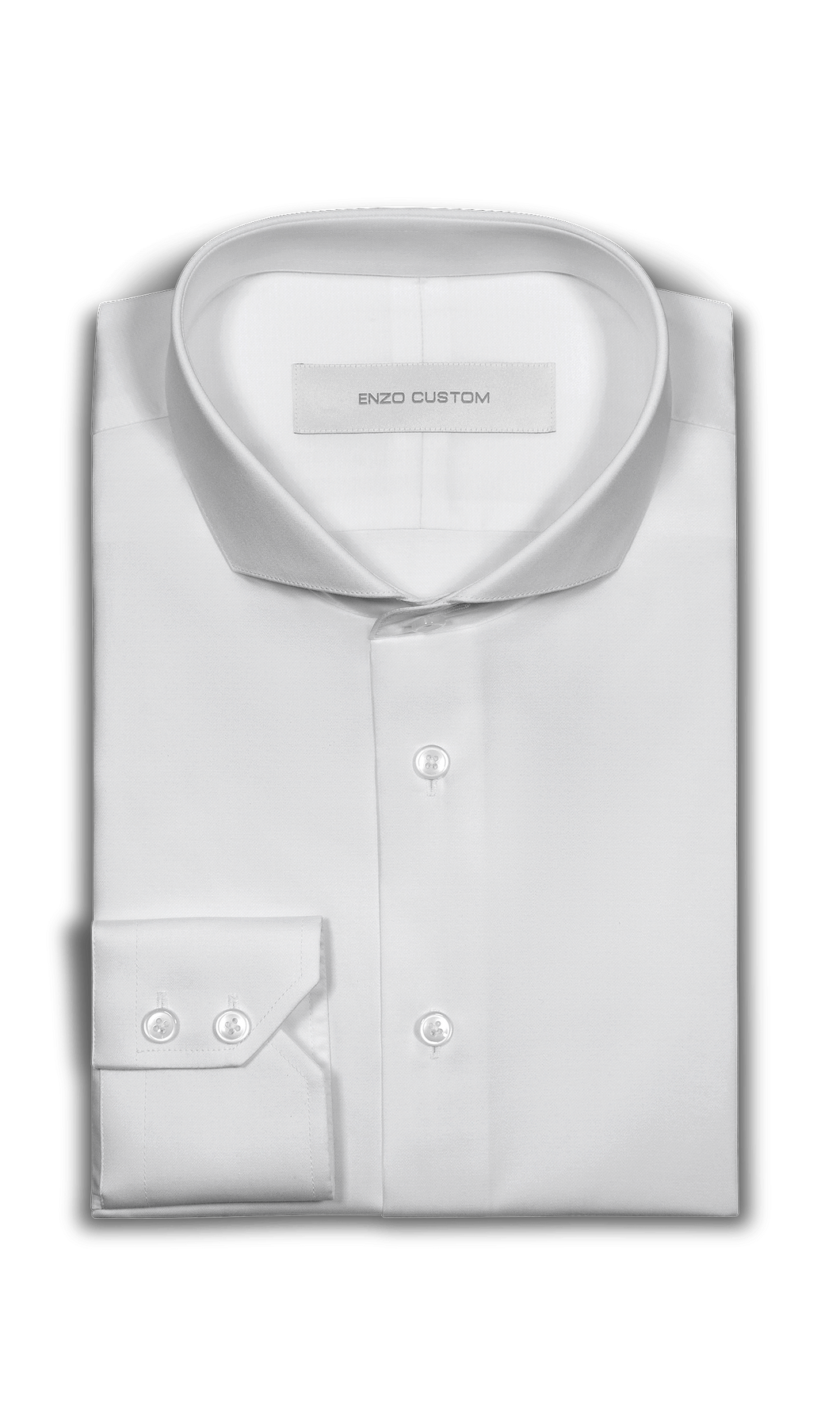 White Dress Shirt - Enzo Custom