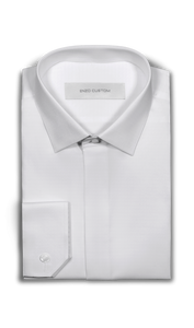 Signature Shirt White French Cuff Dress Shirt