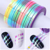 Matte Glitter Nail Striping Tape