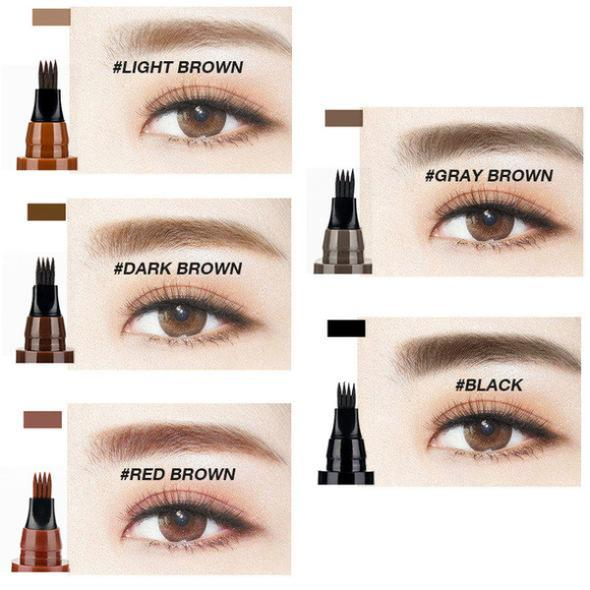 4 Tip Eyebrow Tattoo Pen ⋆