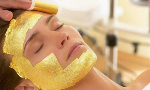 24K Gold Foil Beauty Mask