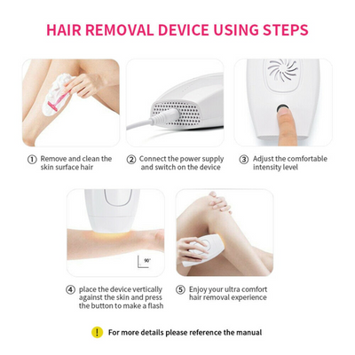 LaserHair™ Beauty Hair Remover by AMOR