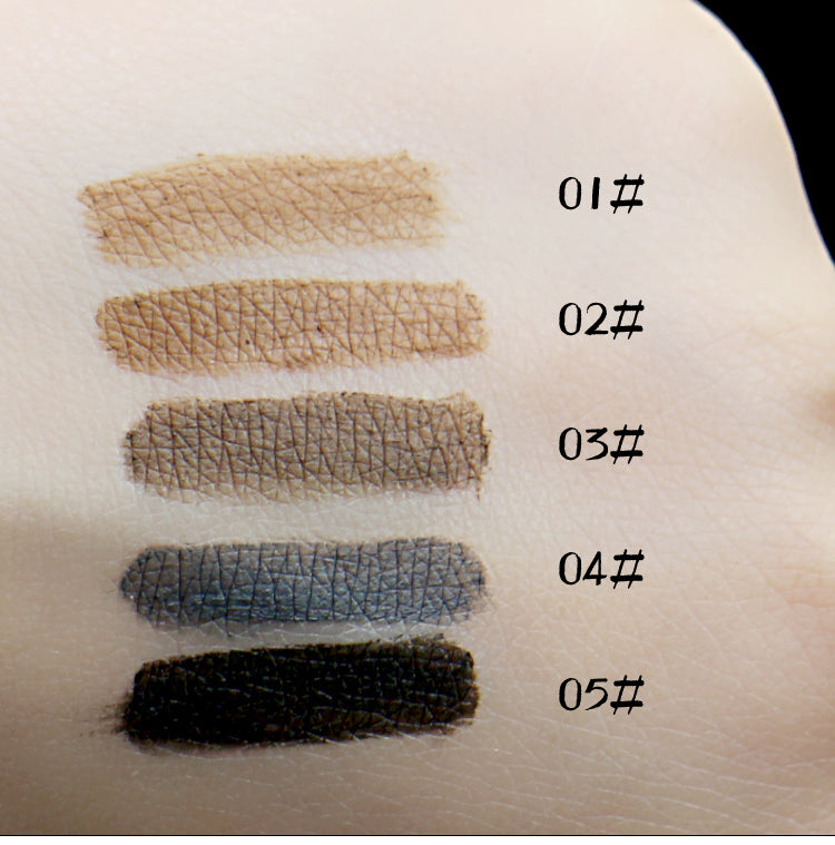 Long Lasting Waterproof Eyebrow Dye Cream Pencil Set