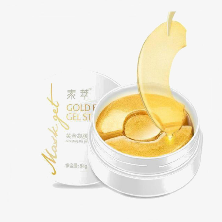 Gold Aquagel Collagen Eye Mask