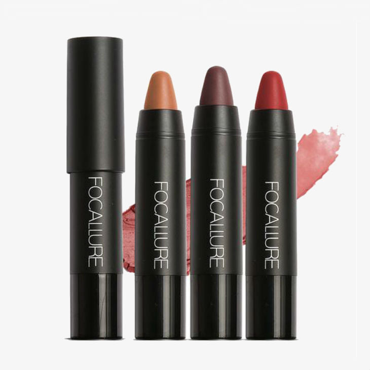 Long-Lasting Waterproof Matte Lip Crayon