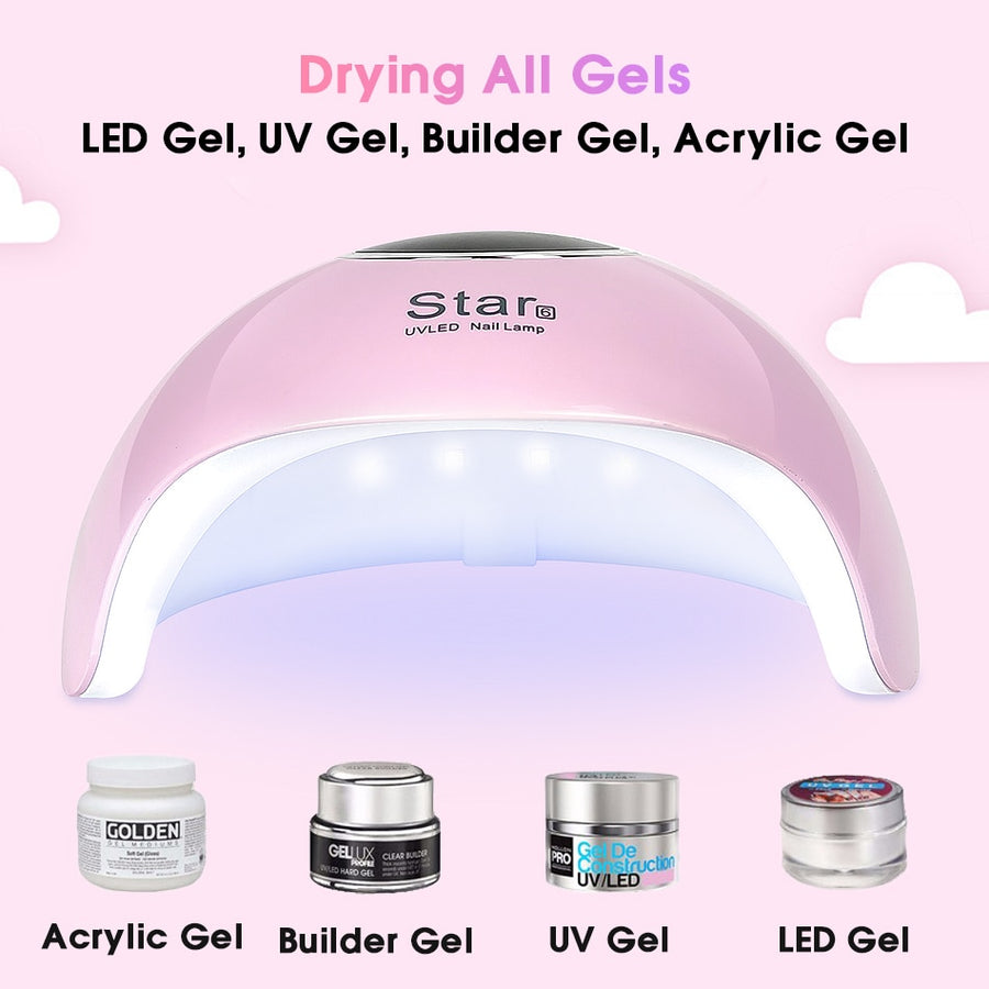 UV LED Lamp for Nail Gel