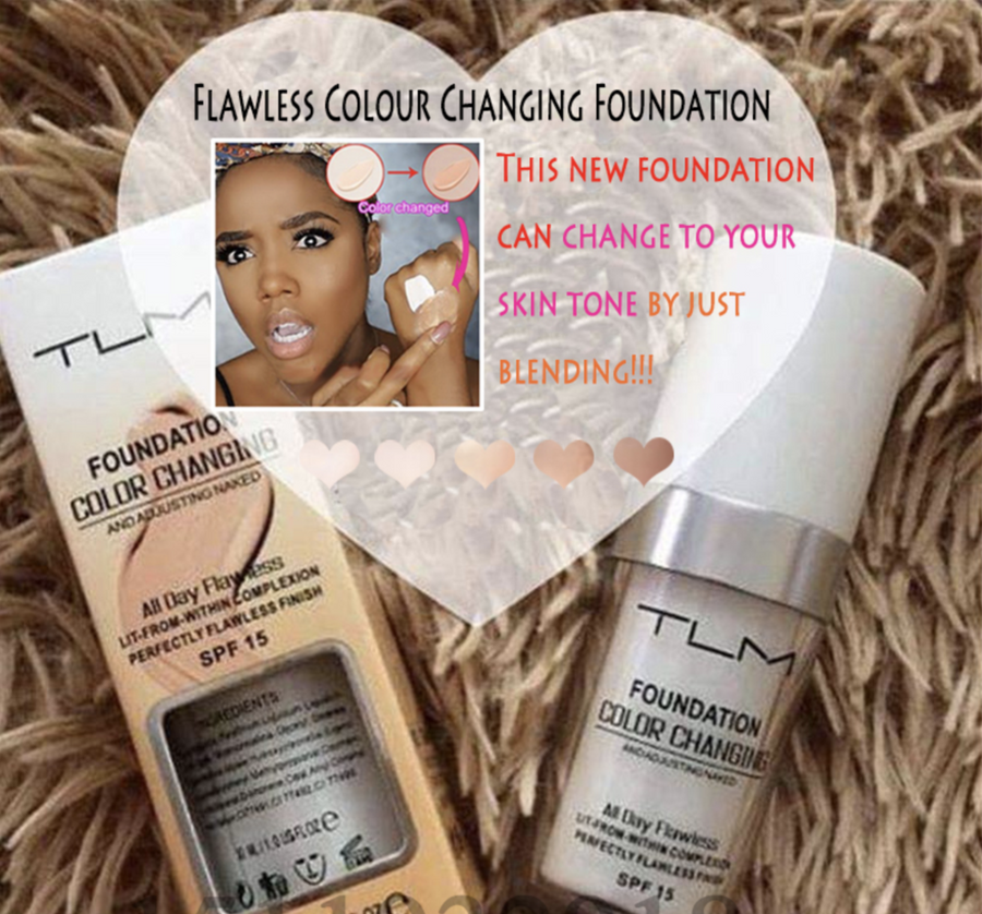 Flawless Colour Changing Foundation (🎁 Buy 1 Get 1 Free Now)