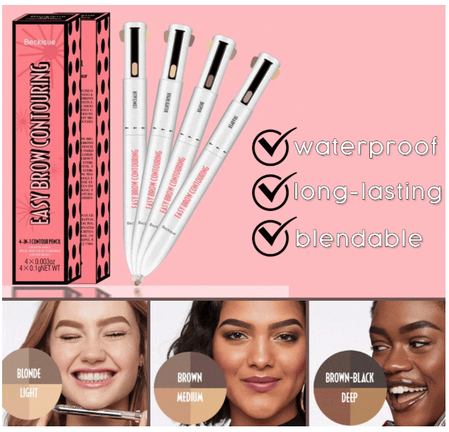 4-in-1 Brow Contour & Highlight Pen ⋆⋆