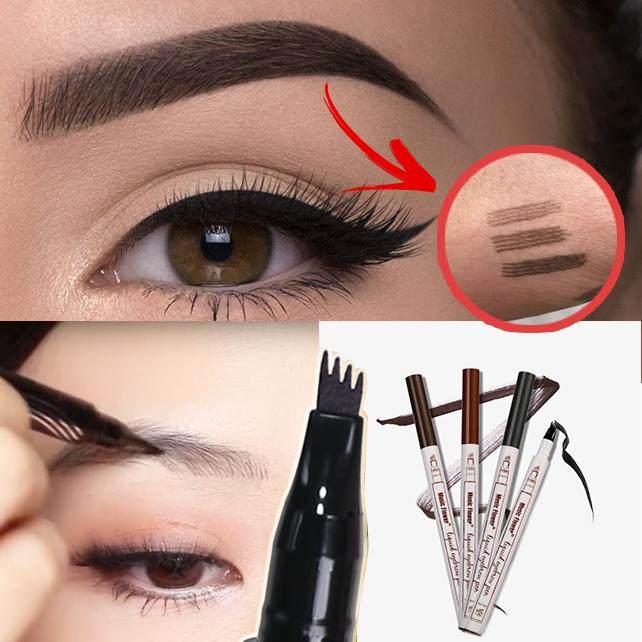 fb4b77159e3da Waterproof Fork Tip Eyebrow Tattoo Pen - AmorBeauty.co
