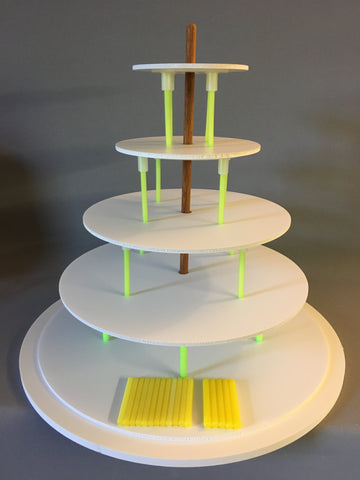 SpeedStack Cake Support System 5 tier set