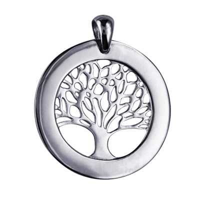 Circle of Life Pendant in Sterling Silver