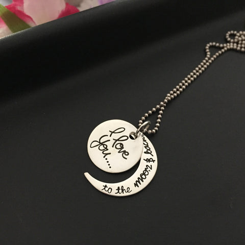 To the Moon and Back Pendant