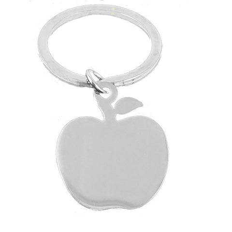 Apple Keyring - Etched