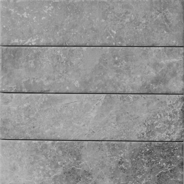 "Bistrot 3"" x 12"" Marble Look Porcelain Subway Tiles"