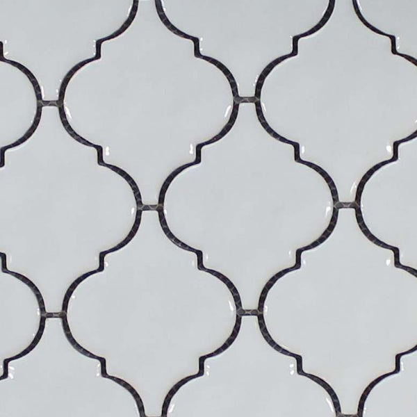 Ceramic Arabesque Mosaic Tiles