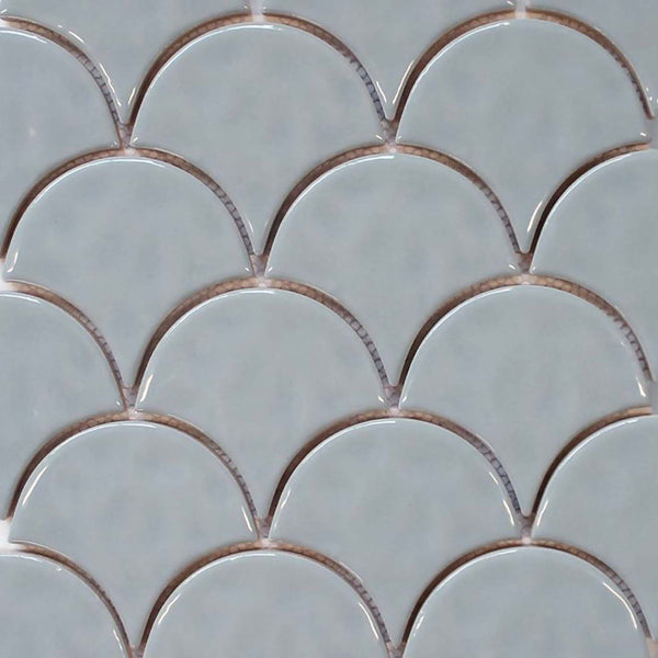 Ceramic Fish Scale Mosaic Tiles