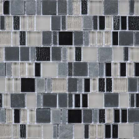 Karma Stone and Glass Mosaic Tiles