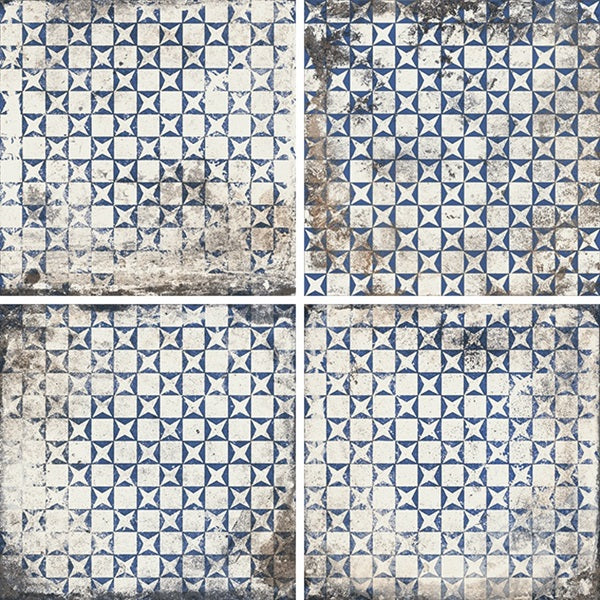 Mariner 900 8x8 Glazed Porcelain Pattern Floor Tiles