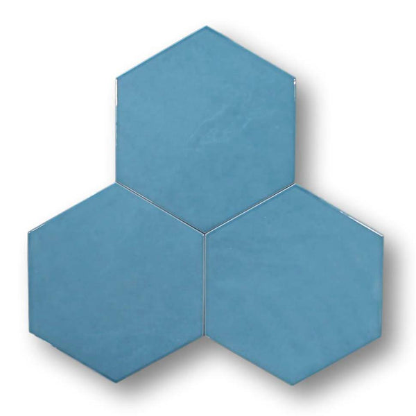 "Konzept Glazed Porcelain 7"" x 8"" Hexagon Tiles"