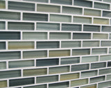 Beach Break Hand Painted Glass Mosaic Subway Tiles - Rocky Point Tile - Glass and Mosaic Tile Store