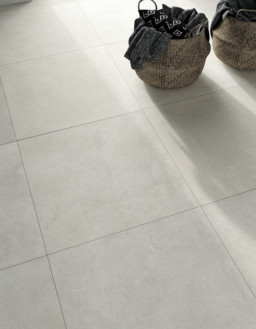 "Glocal 23.75""x 23.75"" Glazed Porcelain Tiles - Clear Natural"