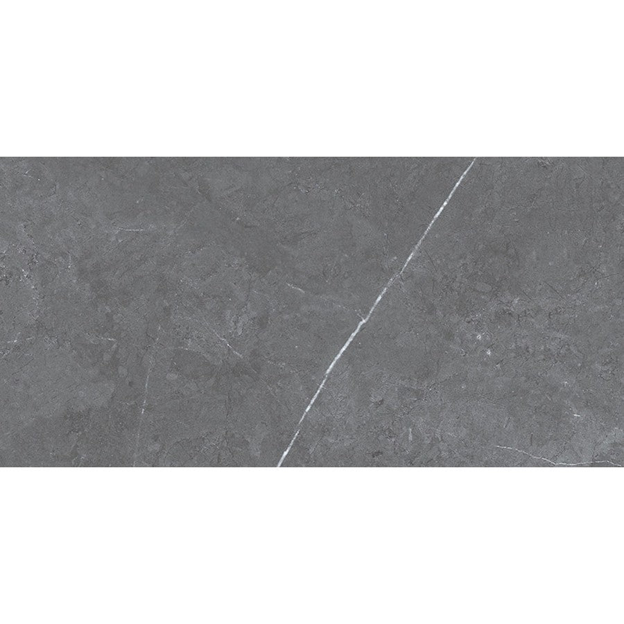 "Pulpis 12"" x 24"" Matte Glazed Ceramic Tiles - Grigio"