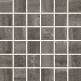 "Reverso 2"" x 2"" Porcelain Mosaic Tiles - Natural Black"