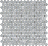 Stainless Steel Penny Round Mosaic Tiles - Rocky Point Tile - Glass and Mosaic Tile Store