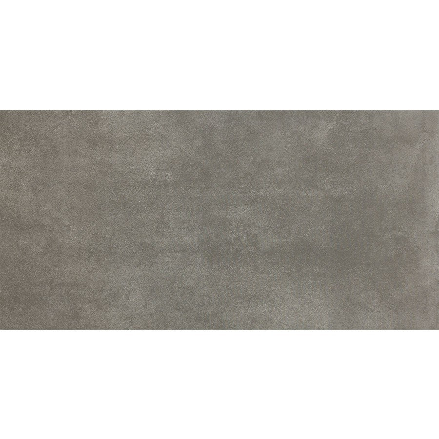 "Walk 12"" x 24"" Matte Glazed Porcelain Tiles - Black"