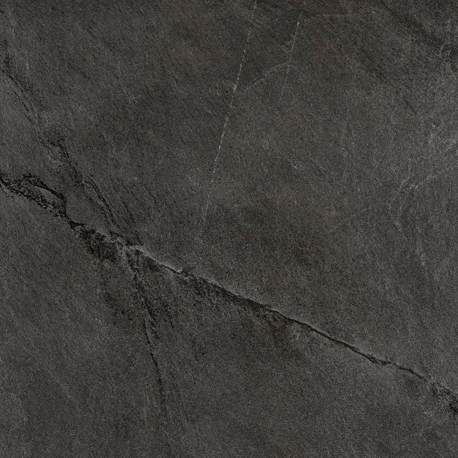 "X Rock 24"" x 24"" 2CM Matte Porcelain Tiles - Night"