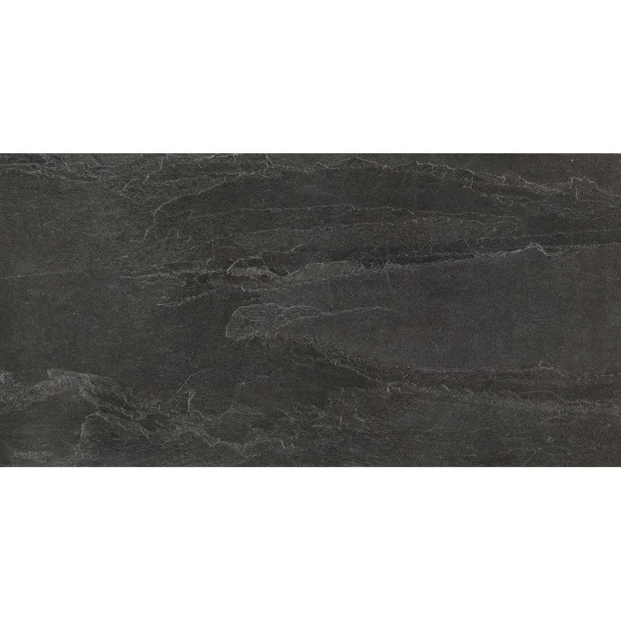 "X Rock 24"" x 48"" Matte Porcelain Tiles - Night"