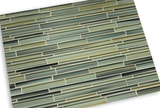 Beach Break Hand Painted Linear Glass Mosaic Tiles - Rocky Point Tile - Glass and Mosaic Tile Store