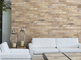 "Bristol 2.5"" x 10"" Porcelain Brick-Look Subway Tiles - Cream"