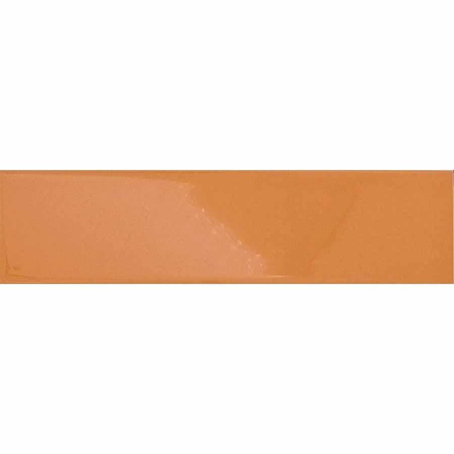 Intelligent Series Ceramic Subway Tiles - Glossy Creamsicle