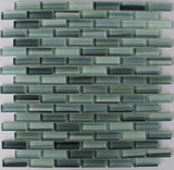 Surfz Up Hand Painted Glass Mosaic Subway Tiles - Rocky Point Tile - Glass and Mosaic Tile Store