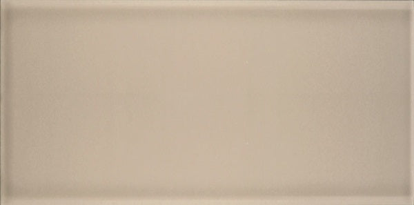 "H-Line 3"" x 6"" Glazed Ceramic Subway Tiles - Pumice"