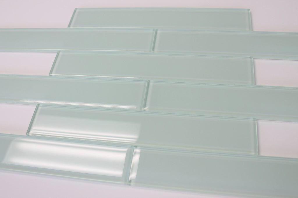 Ice Age 2x12 Glass Subway Tiles - Rocky Point Tile - Glass and Mosaic Tile Store