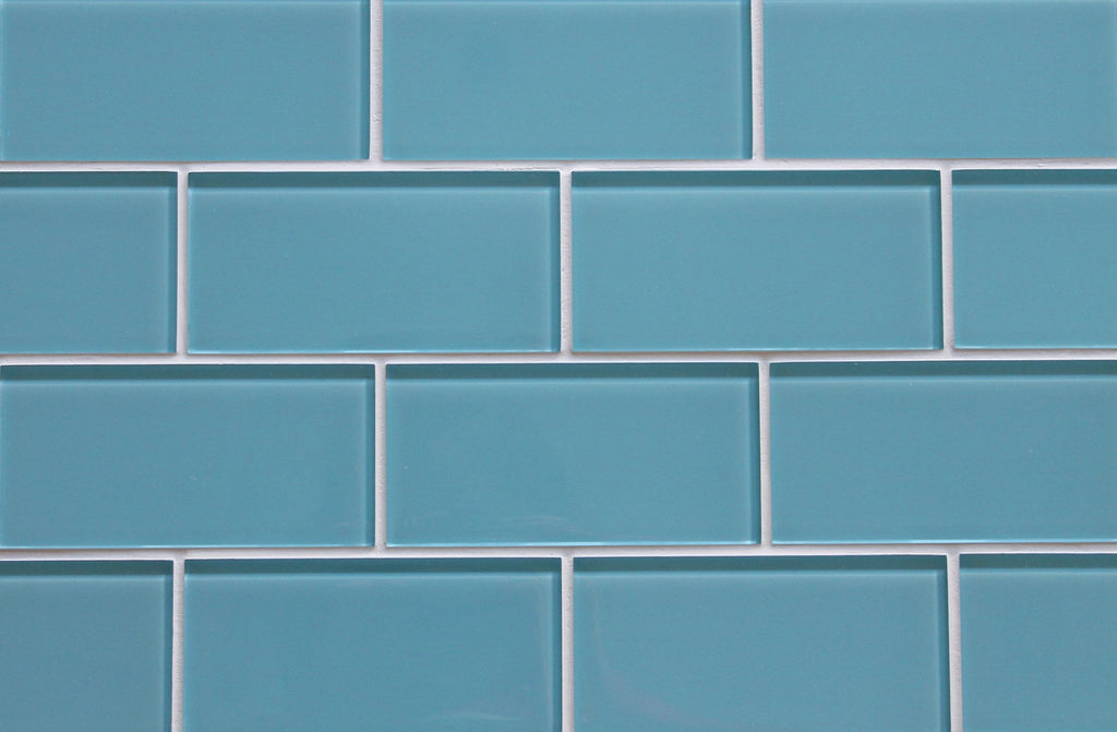 Infinity Blue 3x6 Glass Subway Tiles - Rocky Point Tile - Glass and Mosaic Tile Store