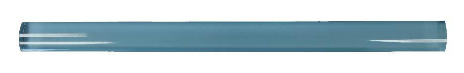 Infinity Blue Glass Pencil Trim - Rocky Point Tile - Glass and Mosaic Tile Store