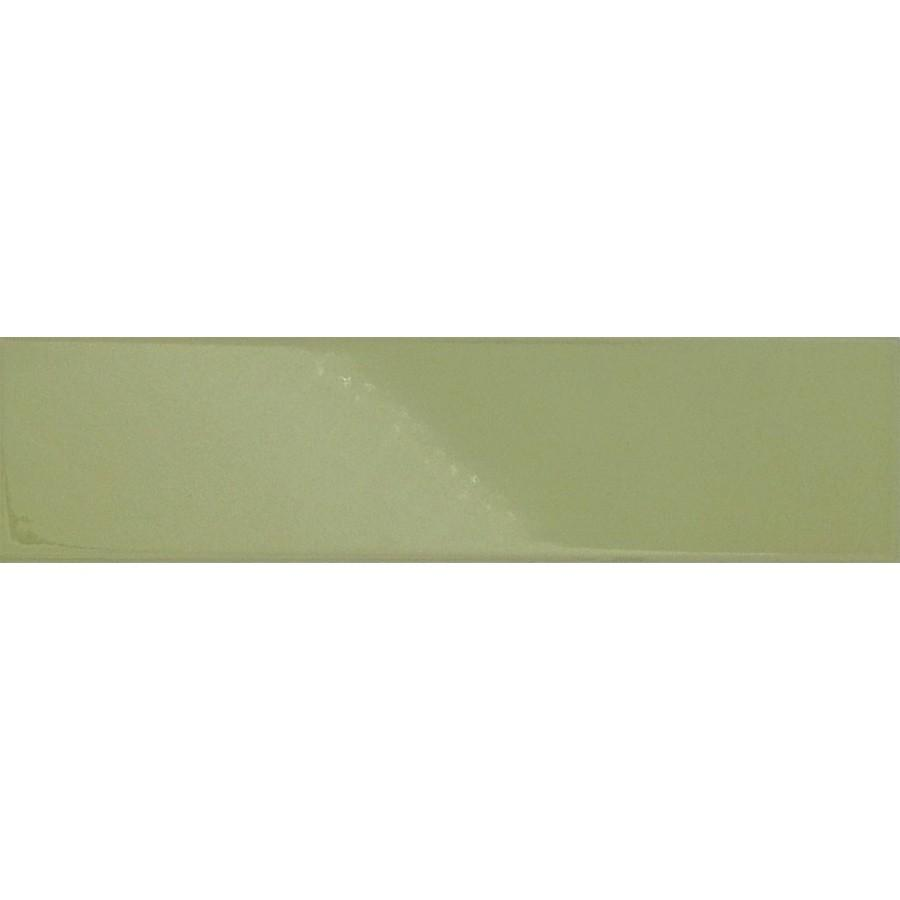 Green Glossy Ceramic Subway Tiles - Key Lime