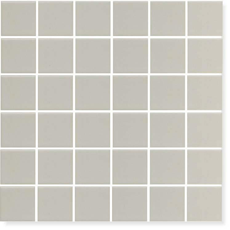 Gray Glazed Porcelain 2 x 2 Mosaic Tiles - 10 Square Feet - Rocky Point Tile - Glass and Mosaic Tile Store
