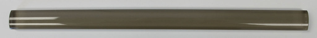 Manhattan Taupe Brown Glass Pencil Trim - Rocky Point Tile - Glass and Mosaic Tile Store