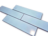 Modelli Glossy Porcelain 3 x 12 Subway Tiles - Aqua Blue
