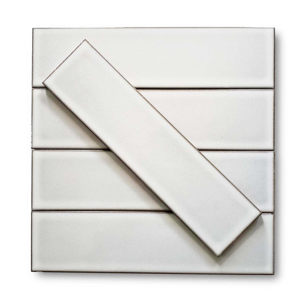 Modelli Glossy Porcelain 3 x 12 Subway Tiles - White